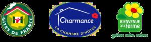 Gites de France, chambres d'hôtes Charmance et Bienvenue à la Ferme dans le Tarn