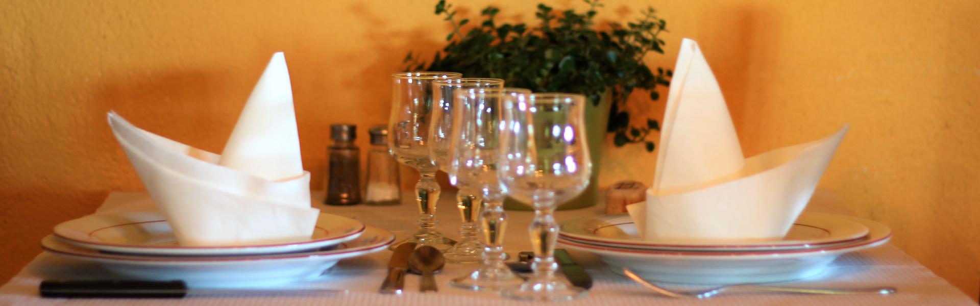 Table de la Ferme-Auberge Les Chênes